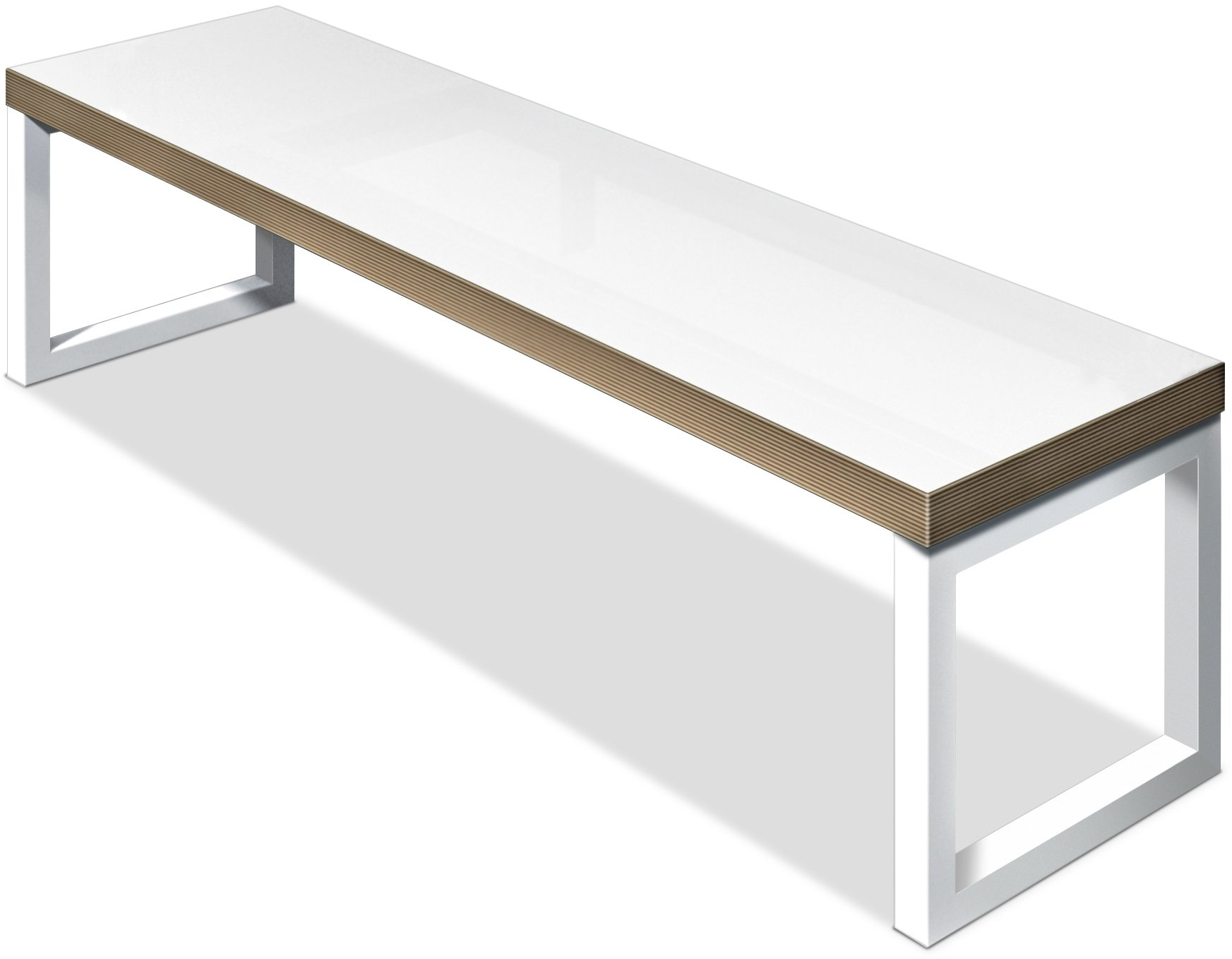 Fr Vi Block Steel White Small Bench