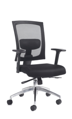 Dams Gemini Task Chair with Adjustable Arms