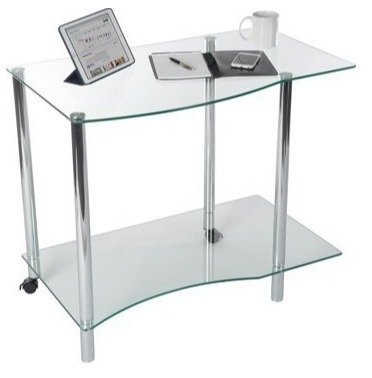 Teknik Ice Light Desk - (w) 890mm x (d) 540mm