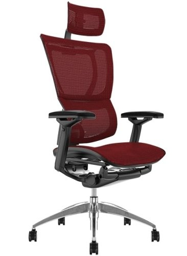 Comfort Mirus Mesh Chair with Headrest