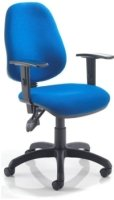 Lite 2 Lever Operator Chair with Adjustable Arms