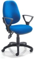 Lite 2 Lever Operator Chair with Fixed Arms