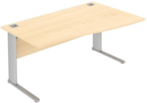 Elite Optima Plus Single Wave Desk 1800 x 800-1000mm