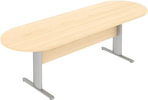 Elite Optima Plus Double D Ended Meeting Table 2600 x 800mm