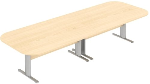 Elite Optima Plus Double D Ended Conference Table