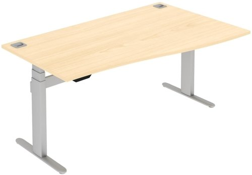 Elite I Frame Single Wave Electronic Desk - (w) 1200mm x (d) 800mm