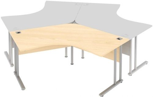 Elite Flexi 120 Degree Workstation 2078 x 800mm