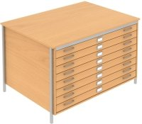 Elite Norton A0 Plan 1 Drawer Chest MFC Finish