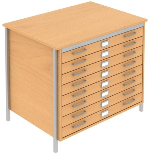 Elite Norton A1 Plan 3 Drawer Chest MFC Finish