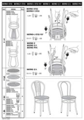 Bistro Deluxe Assembly Instructions