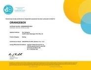 Joy 01 Intertek Sustainability Clean Air Certificate