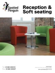 Seating Reception & Soft Seating
