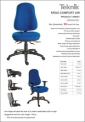 Ergo Comfort Air Specification
