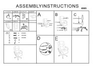 Lumbar Massage Assembly Instructions