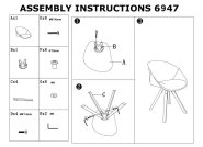 Pyramid Padded Tub Chair Assembly Instructions
