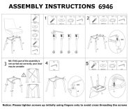 Welcome Reception Chair Assembly Instructions