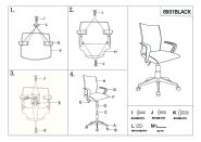 Work Chair Assembly Instructions