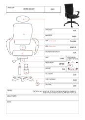 Work Chair Product Parts