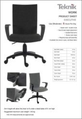 Work Chair Specification