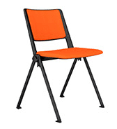 Elite Salto 4 Legged Chair with Upholstered Seat & Back