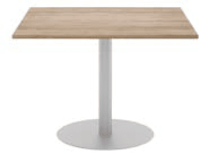 Elite Square Meeting Table MFC Finish - 800 x 800 x 720mm