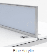 Elite 120 Degree System Acrylic Screen - Width 979mm