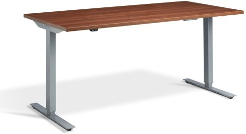 Lavoro Edge Height Adjustable Desk - (w) 1200mm x (d) 800mm