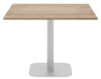 Elite Square Meeting Table MFC Finish - 600mm