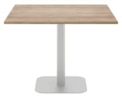 Elite Square Meeting Table MFC Finish - 1000mm