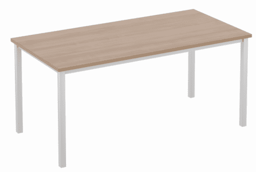 Elite Rectangular Training Table with Square Legs MFC Finish 1000 x 600mm