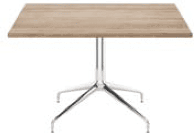 Elite Rio Square Meeting Table MFC Finish - 800 x 800 x 725mm